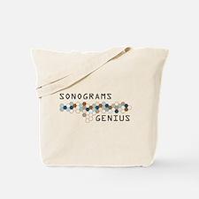 Sonograms Genius Tote Bag