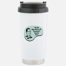 Occupational Therapist Voice Travel Mug