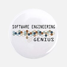 "Software Engineering Genius 3.5"" Button (100 pack)"