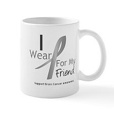 Gray Ribbon Friend Mug
