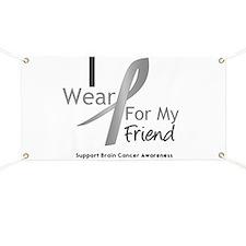 Gray Ribbon Friend Banner
