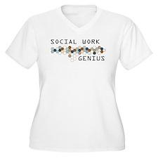 Social Work Genius T-Shirt