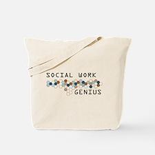 Social Work Genius Tote Bag