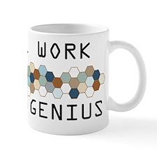 Social Work Genius Mug