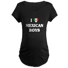 I Love Mexican Boys T-Shirt