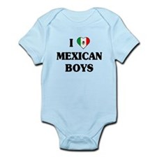 I Love Mexican Boys Infant Bodysuit