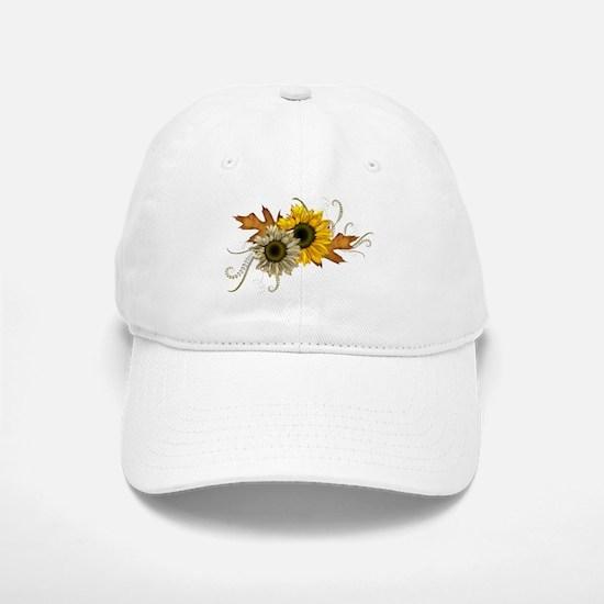 Sunflowers Baseball Baseball Cap