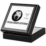 AMERICAN PIT BULL TERRIER Keepsake Box