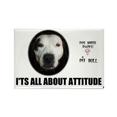 AMERICAN PIT BULL TERRIER Rectangle Magnet