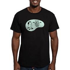 Molecular Biologist Voice Men's Fitted T-Shirt (da