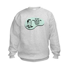 Molecular Biologist Voice Kids Sweatshirt