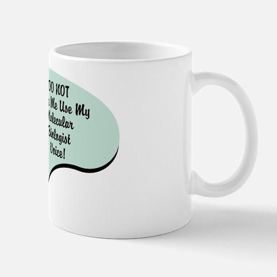 Molecular Biologist Voice Mug