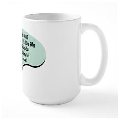 Molecular Biologist Voice Large Mug