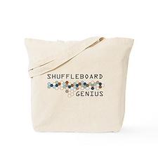 Shuffleboard Genius Tote Bag
