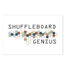 Shuffleboard Genius Postcards (Package of 8)