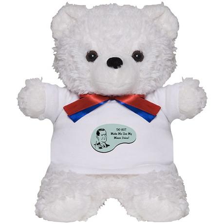 Miner Voice Teddy Bear