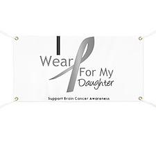 Gray Ribbon Daughter Banner