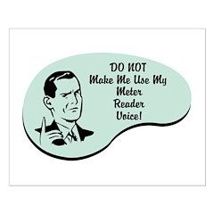 Meter Reader Voice Posters