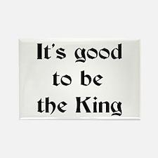 king good Rectangle Magnet