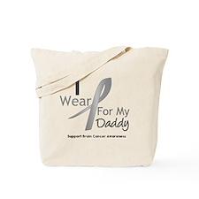Gray Ribbon Daddy Tote Bag