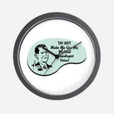 Medical Technologist Voice Wall Clock