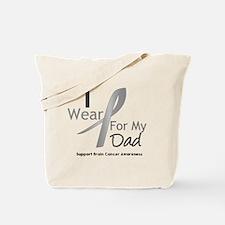 Gray Ribbon Dad Tote Bag