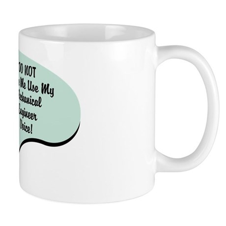 Mechanical Engineer Voice Mug