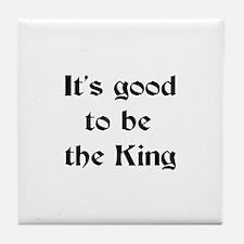 king good Tile Coaster