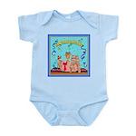 CONGRATULATIONS Wheaten Infant Bodysuit
