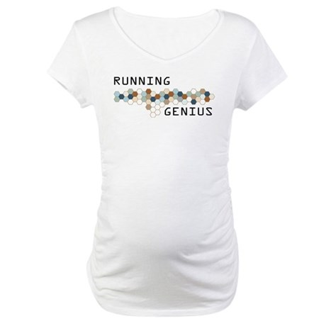 Running Genius Maternity T-Shirt