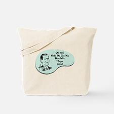 Mandolin Player Voice Tote Bag