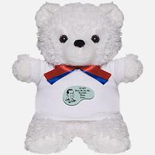 Mandolin Player Voice Teddy Bear