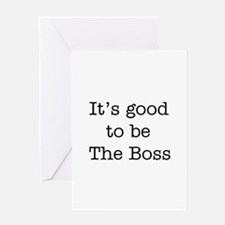 boss good Greeting Card