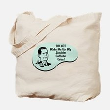 Lunchbox Collector Voice Tote Bag