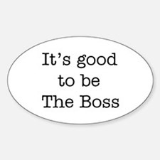 boss good Decal