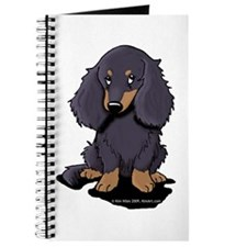 LH Black/Tan Doxie Journal