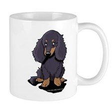 LH Black/Tan Doxie Mug
