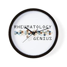 Rheumatology Genius Wall Clock