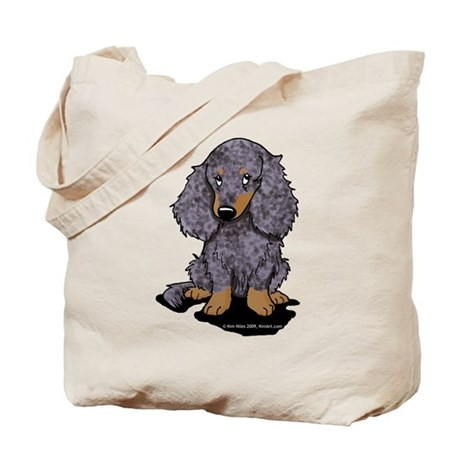 Blue Dapple LH Doxie Tote Bag