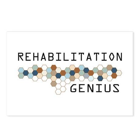 Rehabilitation Genius Postcards (Package of 8)