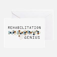 Rehabilitation Genius Greeting Card