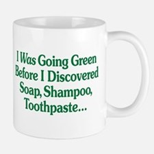 I Was Going Green Mug