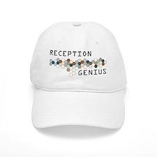 Reception Genius Baseball Baseball Cap