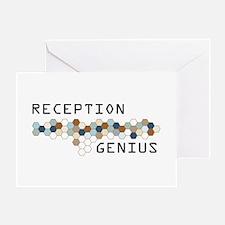 Reception Genius Greeting Card