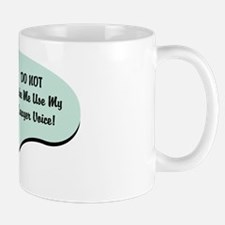 Lawyer Voice Small Mugs