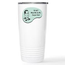 Lawyer Voice Travel Mug