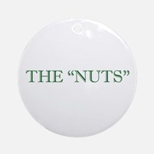 The Nuts Holiday Ornament (Round)