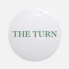 The Turn Holiday Ornament (Round)