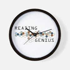 Reading Genius Wall Clock