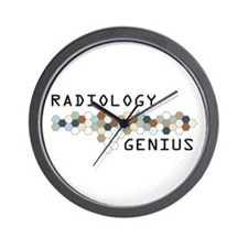 Radiology Genius Wall Clock